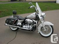 2007 Harley-Davidson Road King Classic This is a