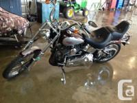 2007 Harley Davidson Softail Custom. 1540cc 13,000km,