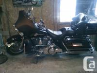 2007 Harley with 53,000 miles, well maintained. New