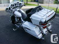 """No time to ride 2 Pearl White """"Loaded"""" Ultra Classic"""