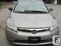 Make Honda Model Civic Sedan Year 2007 Colour GRAY kms