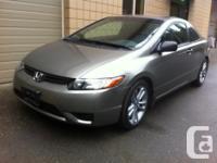 Make. Honda. Design. Civic Coupe. Year. 2007. kms.
