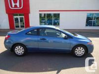 Make Honda Model Civic Coupe Year 2007 Colour Blue kms