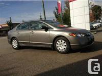 2007 Honda Civic DX-G   Vehicle Features:   PRICE: