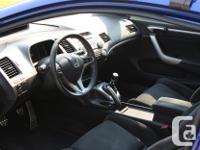 Make Honda Model Civic Colour Blue Trans Manual kms