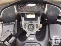 Make Honda Model Goldwing Year 2007 kms 37800 Selling