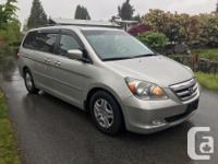 Make Honda Model Odyssey Year 2007 Colour GOLD kms