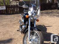 Lady owned Honda 750cc Shadow Spirit, low miles, well
