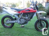 This the real deal factory built supermoto, not a