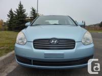 Make Hyundai Model Accent Year 2007 Colour Ice Blue