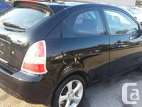 Make Hyundai Model Accent Year 2007 Colour BLACK kms