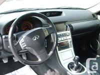 Make Infiniti Model G35 Coupe Year 2007 Colour Black