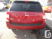 Make Jeep Model Compass Year 2007 Colour red kms
