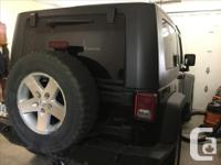 Make Jeep Model Wrangler Year 2007 Colour Black kms for sale  British Columbia