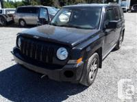 Make Jeep Model Patriot Year 2007 Colour black kms