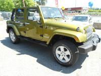 2007 jeep wrangler unlimited sahara 4x4 auto v6 hardtop