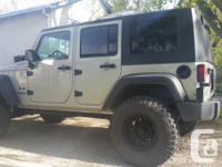 Make Jeep Model Wrangler Unlimited Year 2007 Colour