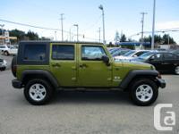 Make Jeep Model Wrangler Year 2007 Colour green kms