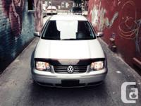 Selling my 2007 Volkswagen Jetta City, with Winter