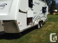 2007 K-Z Outdoorsmen 2205QSS Trailer with rear slide.