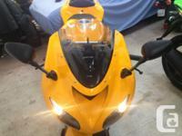 2007 Kawasaki Ninja ZX10R All original!! Includes: Solo