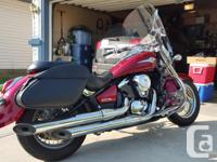 Completely stock, smooth running, 2007 Vulcan 900 for