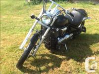 Make Kawasaki Model Vulcan Year 2007 kms 34000 Bike is