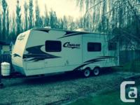2007 Keystone Cougar 243RKS trailer. One owner, 1/2 ton