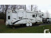 for sale: 2007 Keystone Cougar 310 SRX toy hauler. 35