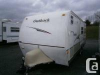 Booth Dinette, Double Bunks, Double door refrigerator,