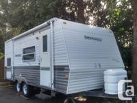 Clean and good condition trailer everything works, we