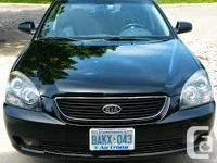 2007 Kia Magentis EX, one owner, low km, no accident