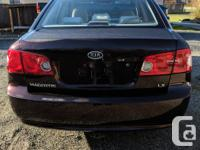 Make Kia Model Magentis Year 2007 Colour Dark Red kms