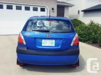 Make Kia Model Rio5 Year 2007 Colour Sapphire Blue kms