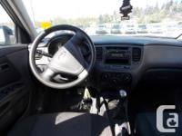 This locally owned 2007 Kia Rio5 comes with power