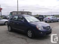 Make Kia Model Rondo Year 2007 Colour Blue kms 243000