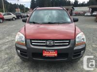 Make Kia Model Sportage Year 2007 Colour Red kms