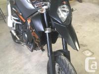 Make KTM Model Duke Year 2007 kms 13500 -Great shape!