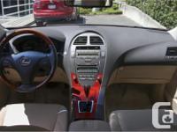 Make Lexus Model ES Year 2007 Colour Red kms 104658