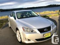Make Lexus Model IS 350 Year 2007 Colour Silver kms