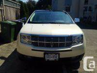 Make Lincoln Model MKX Year 2007 Colour off-white