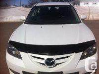 Make Mazda Model MAZDA3 Year 2007 Colour WHITE kms