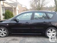 Selling my 2007 Mazda 3 GT Sport. 5 Speed Automatic w/