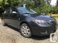 Make Mazda Model 3 Year 2007 Colour Gunmetal Grey kms
