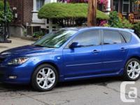 Make Mazda Model 3 Year 2007 Colour Blue kms 160000