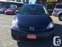 Make Mazda Model 5 Year 2007 Colour Blue kms 188000