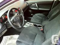 2007 Mazda 6 Sedan, automatic,  4 cyl 2.3l,  no rust,