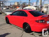 Make Mazda Model 6 Year 2007 Colour red kms 123000