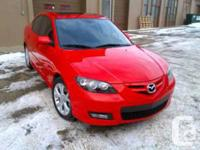 Edmonton, AB 2007 Mazda Mazda3 GT Sedan This reliable