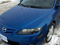 Make Mazda Model 6 Colour Blue Trans Manual kms 130000